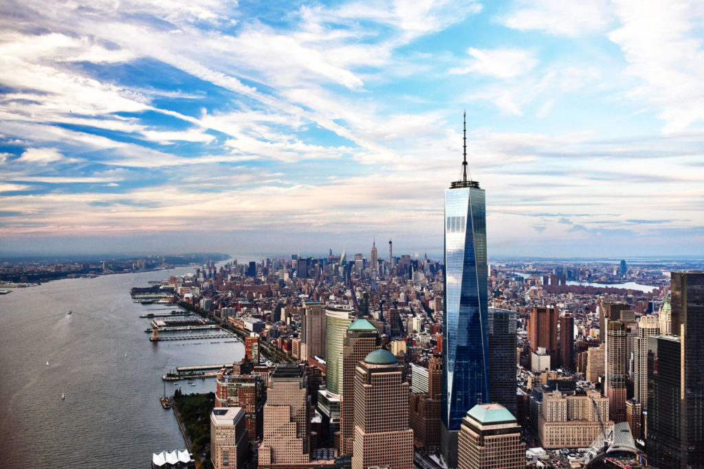 One World Observatory in New York, a potential incentive travel destination