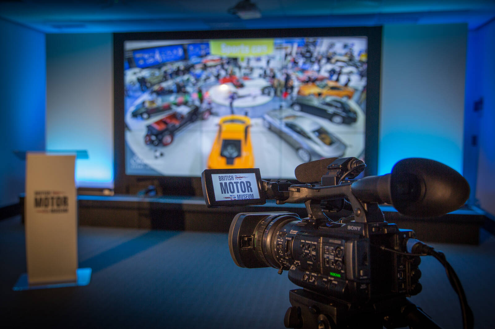 British Motor Museum announces hybrid and virtual event partnership.
