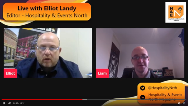 Hospitality and Events North meets Liam McCann, Director of Ultimate Electrical and Security Ltd.