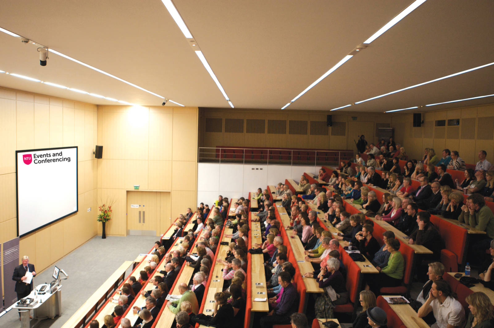 Nottingham Conference Centre rebrands as NTU Events and Conferencing
