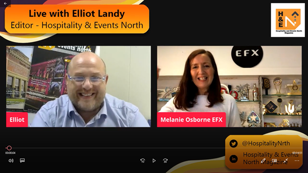 Hospitality and Events North meets Melanie Osborne from Special EFX Ltd.